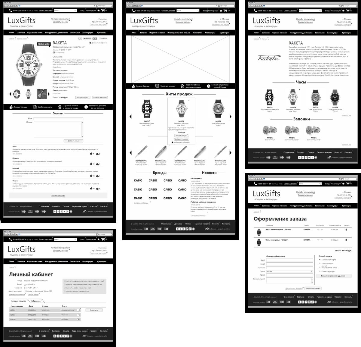 <b>Сборка экранов прототипа</b><p></p>Структура прототипа была утверждена иперенесена надизайн-макеты</p>